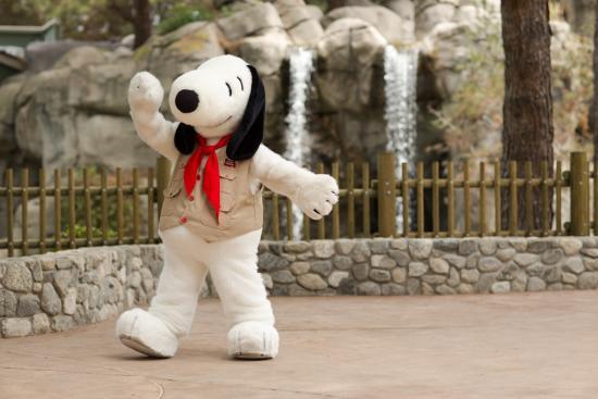 Snoopy at Knott's Berry Farm's Camp Snoopy