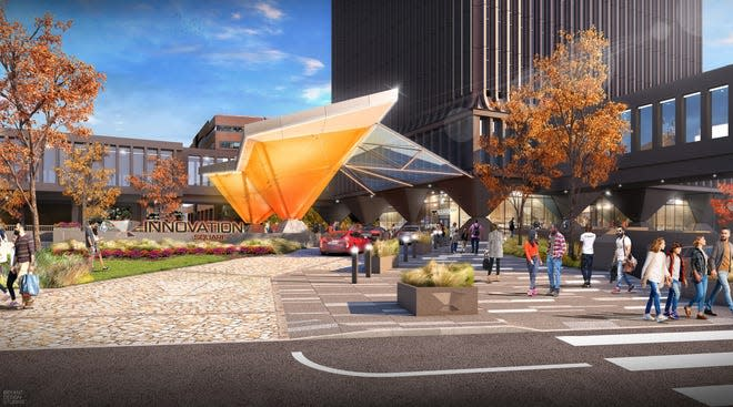 Rendering of Innovation Square