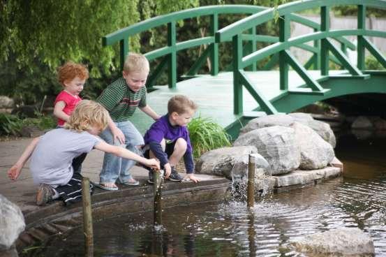 4-H Children's Garden at MSU