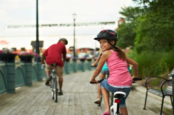Lansing-River-Trail-girl-on-bike