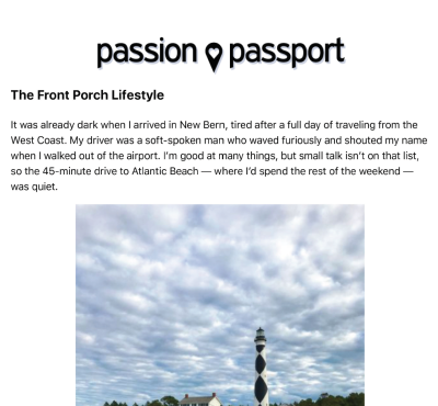 Passion Passport