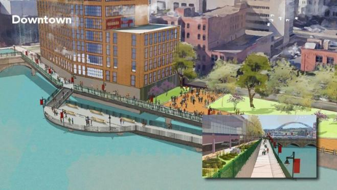 ROC the Riverway Trail Improvement Rendering