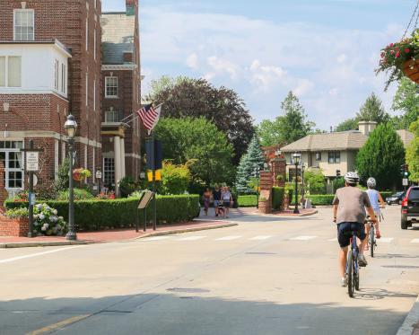 Biking in Newport