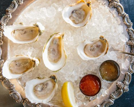 Spots for Oysters in Newport