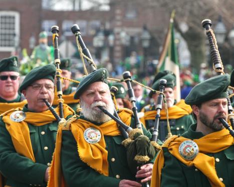St. Patrick's Day in Newport