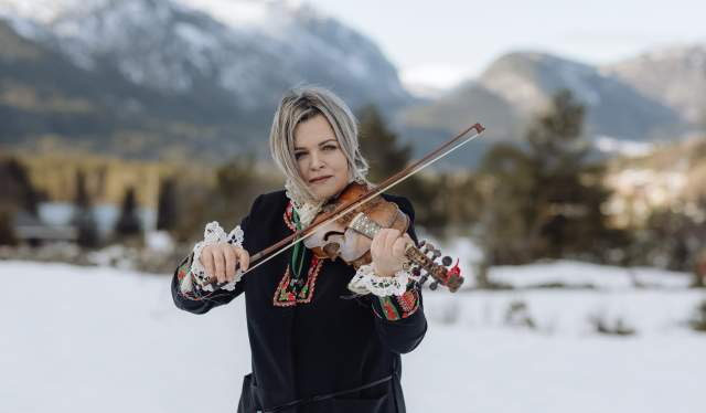 Annbjørg Lien is one of Norway's most famous fiddlers and folk musicians