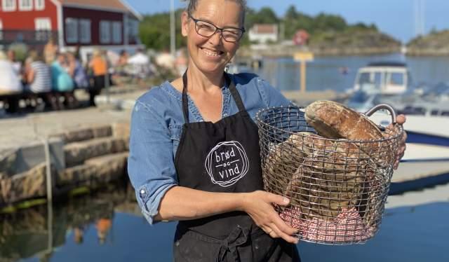 Bakeriet Brød og Vind - Tove Hage Aargaard baker dag og natt gjennom hele sommeren