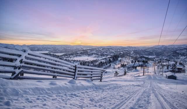 Views of Bortelid alpine center