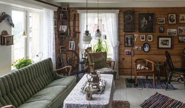 Den gamle bestestua - Eikerapen Gjestegard - Eikerapen i Åseral