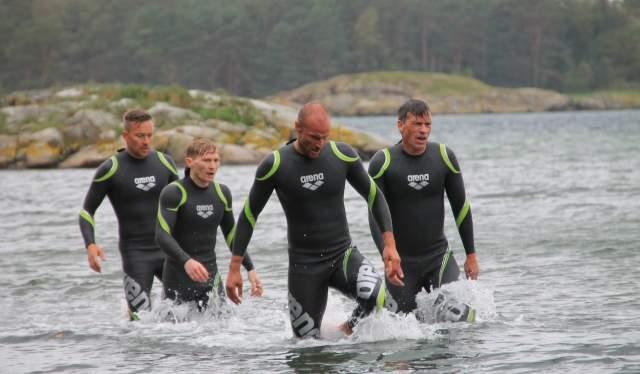 Duathlon på Hove, Arendal under NRK serien Mesternes mester