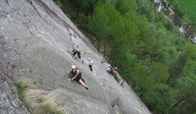 I fjellveggen, Knaben Via Ferrata