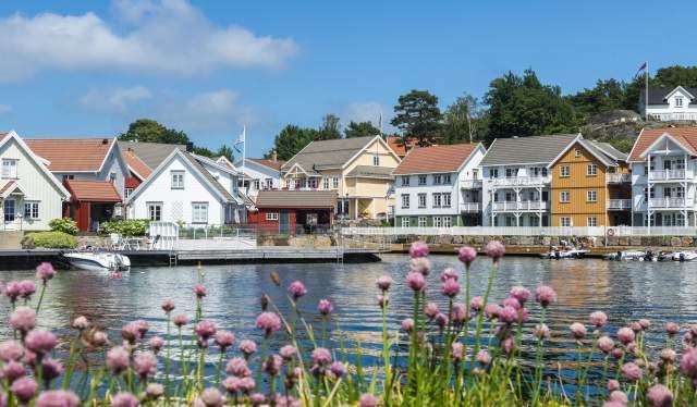 Hotel Lyngørporten på Gjeving, Tvedestrand