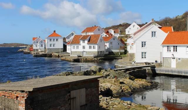 Historical Loshavn Norway