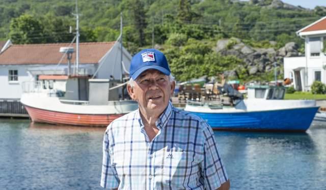 Karl Reidar Pedersen i Korshamn