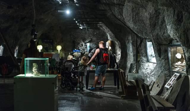 Mineralutstillingen i Mineralparken, Evje