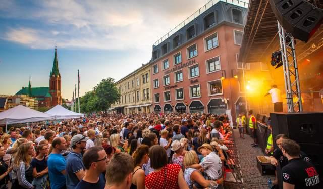 OnklP Pollenkonserten Canal Street Arendal 2019
