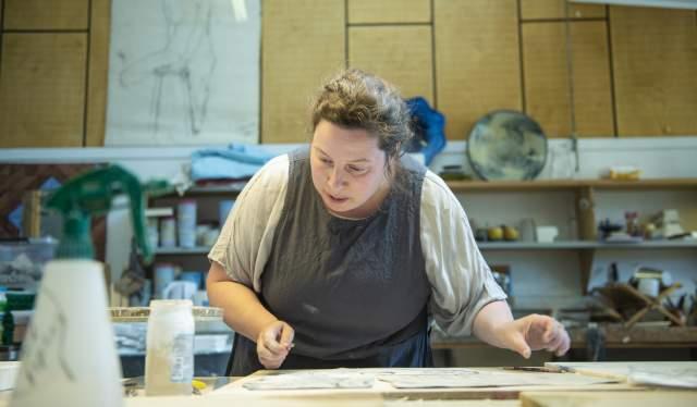 Corrina Thornton i Risør Kunstpark