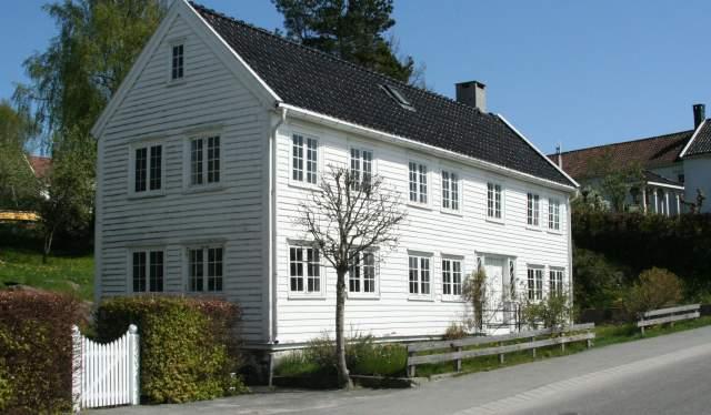 Sandra Svendens hus i Lillesand