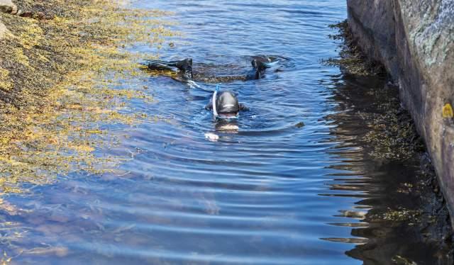 Under vann i Gjeving