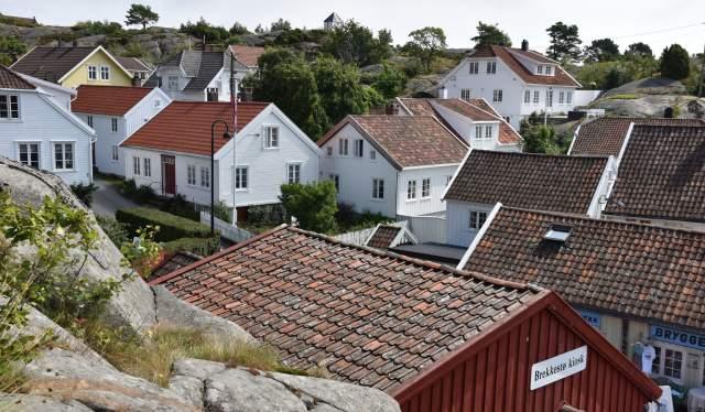 Bebyggelse i Brekkestø