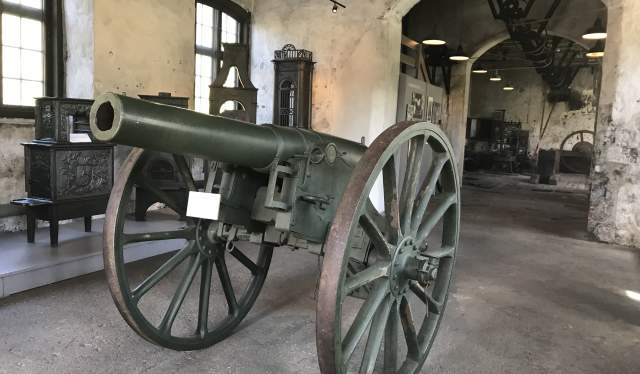 Cannon at Næs Jernverksmuseum