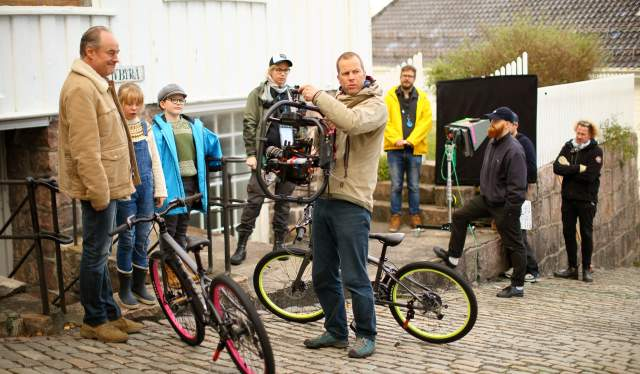 Filminnspilling i Tvedestrand - detektivbyrå nr. 2 - Operasjon Mørkemann