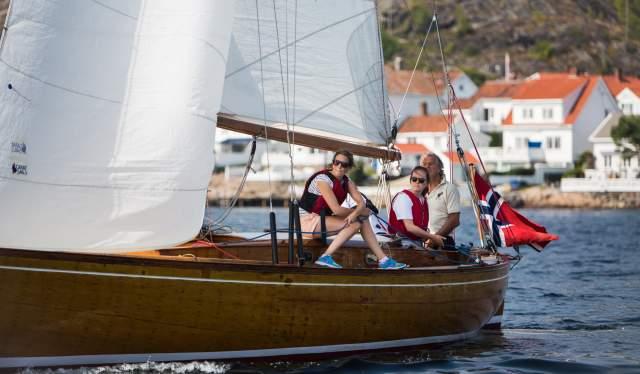 Trebåtfestival Risør Norway