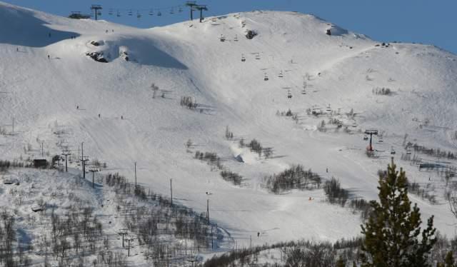 Hovden Alpinsenter top of Nos