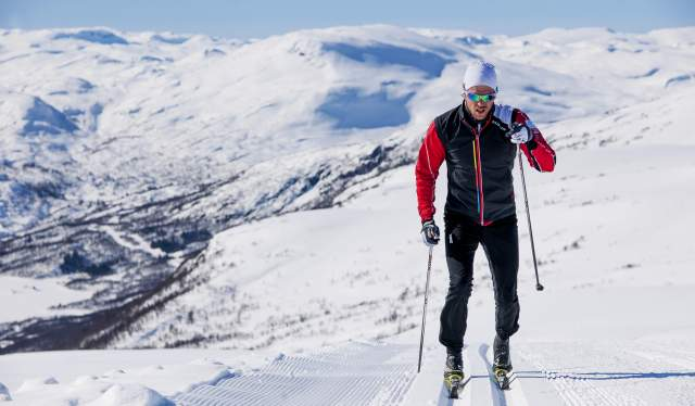 Cross country in Hovden
