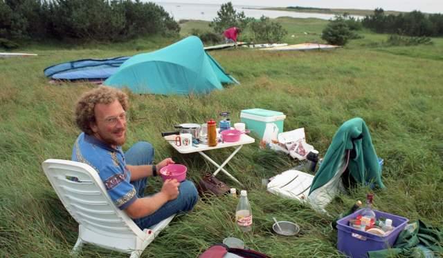 Gode gamle dager. Leif Eric Arneson er her avbildet på Bausje, og året er 1992.