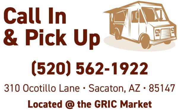 GRIC Market Deli Truck- Call in