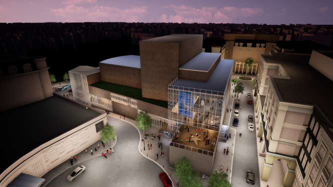 Rendering of StageTwo and STageThree.