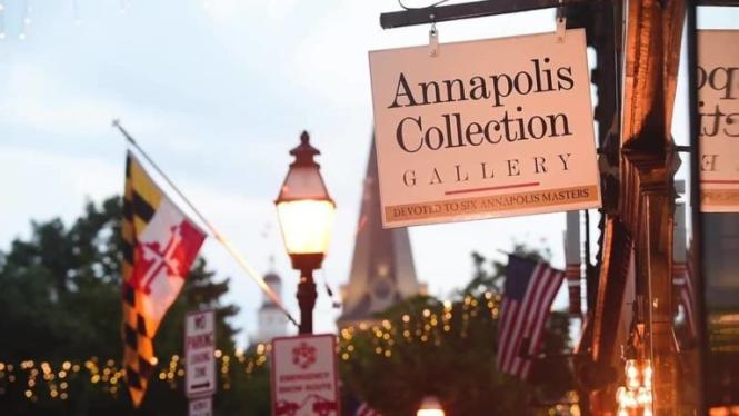 Annapolis Collection Gallery sign
