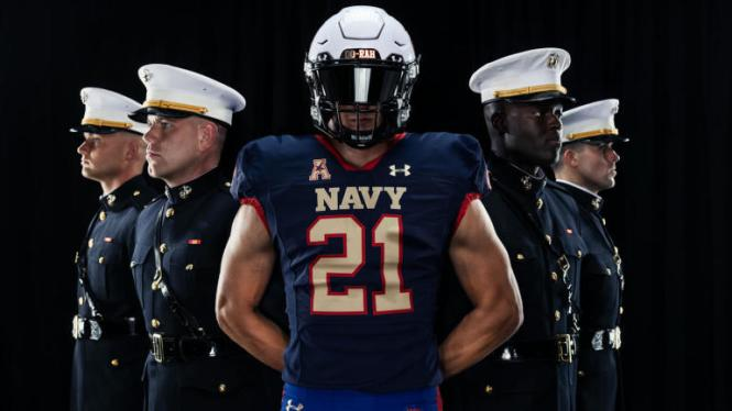 Navy vs. Air Force Uniforms