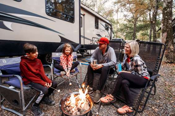 Take a family camping trip with RVshare