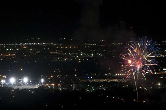 July 24th Fireworks in the Valley