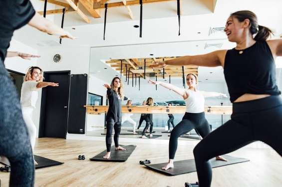 Yoga Class at Maven Strong