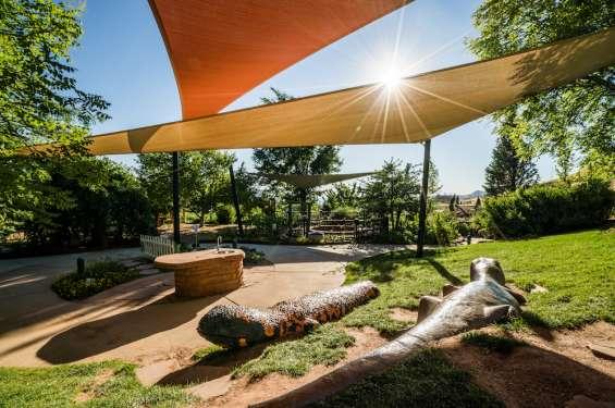 Lizard Sculptures at Red Butte Gardens