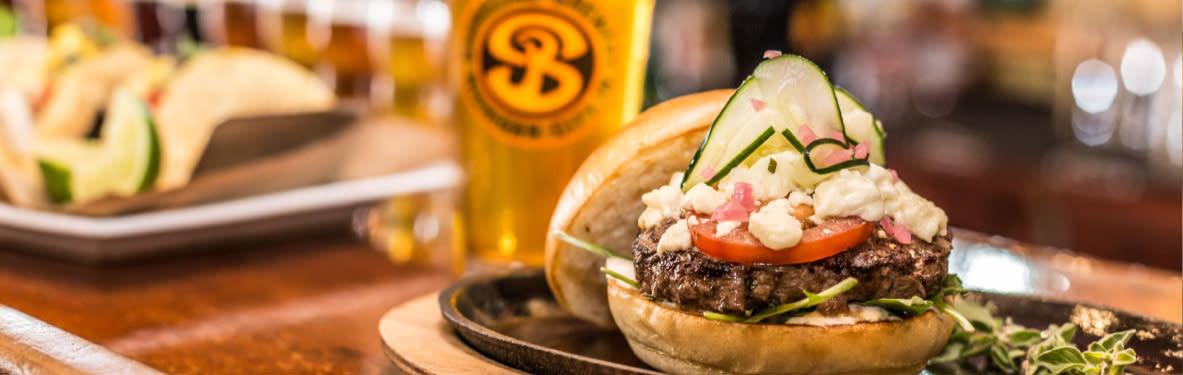 Shoreline brews and burgers