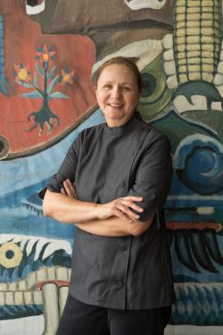 Chef Iliana de la Vega of El Naranjo in Austin Texas