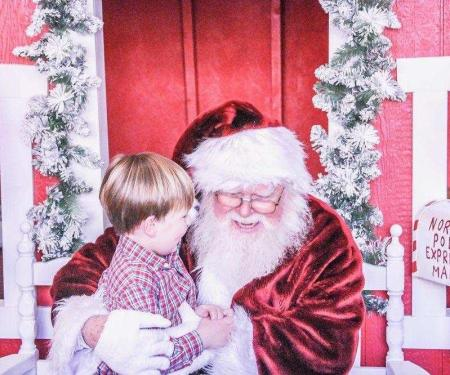 Cookies with Santa at  A'museum