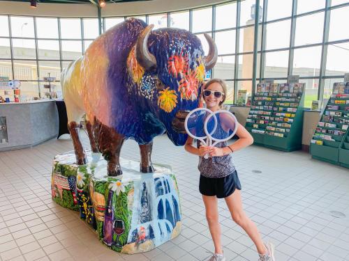 SoIN Visitor Center Bison Fun Trail Prizes