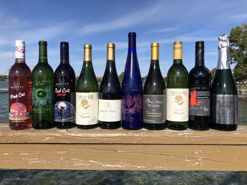 Canandaigua Lake Wine Trail unwrap the trail wine pack