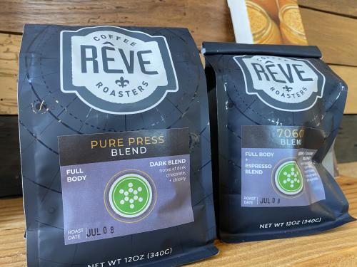 Pure Press Juicery Reve Coffee