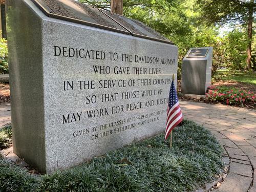 Davidson College War Memorial