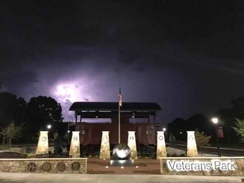 Huntersville Veteran's Park