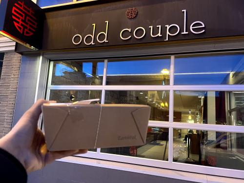 Take out from Odd Couple