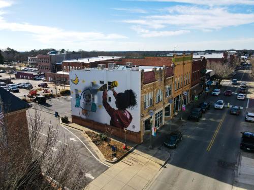 Darion Fleming Mural