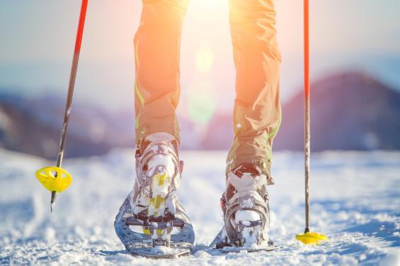 Snowshoeing in Salt Lake