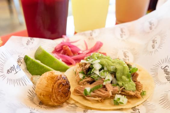 Santo Taco - Pollo Asada Tacos